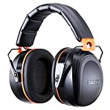Noise Reduction Safety Ear Muffs, Tacklife [Reinforced] NRR 28dB Shooters Hearing Protection Ear Muffs, Adjustable Headband, Noise Cancelling Headphones for Kids and Adults - HNRE2