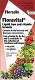 Floravital Liquid Iron Supplement + Herbs 8.5 Ounce - Yeast & Gluten Free - Non Constipating