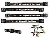 Vanitek 4 Heavy-Duty 12' Magnetic Tool Holder Racks | Super Strong Metal Magnet Storage Tool...