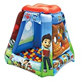Ball Pits for Kids, Paw Patrol Ball Pit with 20 Balls, Toddler Jungle Gym Playhouse Inflatable for Boys Girls kids Infants & Baby [Balls Included]