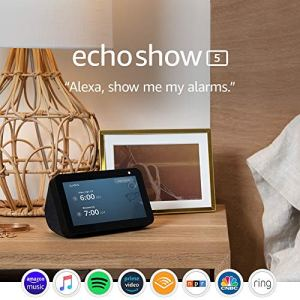Echo Show 5 -- Smart display with Alexa – stay connected with video calling - Charcoal 14