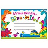 TREND enterprises, Inc. It's Your Birthday... Dino-Mite Pals Recognition Awards, 30 ct
