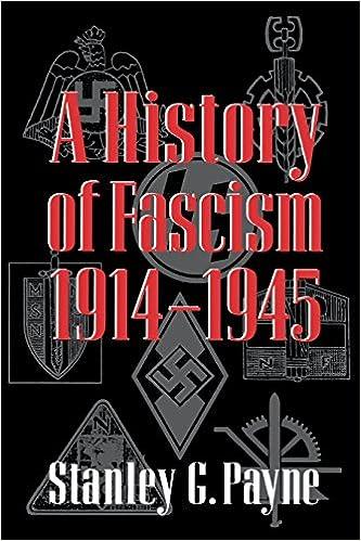 A History of Fascism, 1914–1945: Payne, Stanley G.: 9780299148744:  Amazon.com: Books