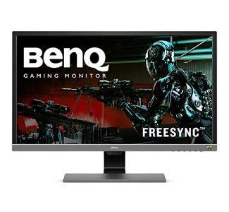 BenQ 28 inch 4K HDR10 Monitor (EL2870U), UHD 3840x2160, FreeSync, 1ms Response Time, Eye-Care, Brightness Intelligence Plus, HDMI, DP, Built-in Speakers