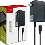 AC Adapter Charger for Nintendo Switch, YCCTEAM Switch Charger AC Adapter Power Supply 15V 2.6A Fast Charging Kit for Switch Dock and Pro Controller (Support TV Mode),Black
