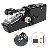 Handheld Sewing Machine, Cordless Handheld Electric Sewing Machine Quick Handy Stitch for Home or Travel use (Black)
