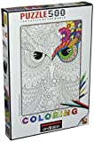Anatolian 500Piece Coloring Night Owls Jigsaw Puzzle