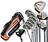 Founders Club The Judge Mens Complete Golf Set, Graphite/Steel, Regular Flex, Left-handed