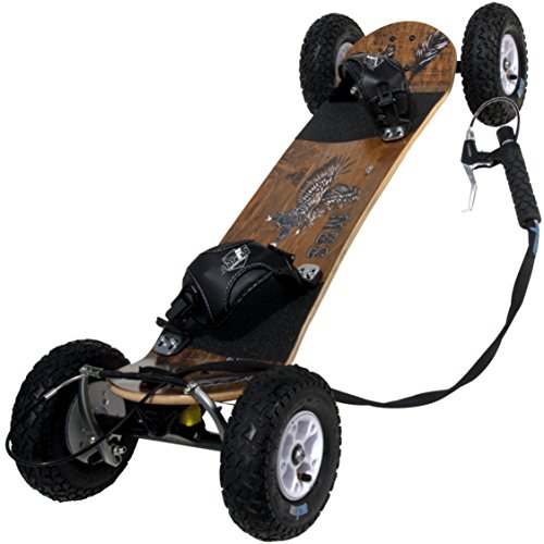 MBS 10302 Comp 95X Mountainboard, 46', Wood Grain Brown