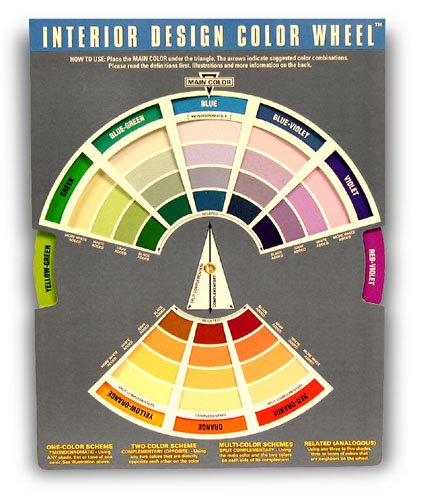 Interior design color wheel chart - Color wheel for decorating ...