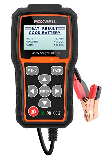 Foxwell BT705 12V&24V Car Battery Load Tester and Charging System Analyser