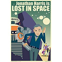 Jonathan Harris Is Lost In Space by Juan Ortiz Art Print Poster 12x18