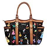 The Bradford Exchange Disney Handbag With Character Art And Tinker Bell Charm