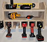 Drill Storage and Charging Station (Fully assembled with power strip)