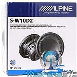 Alpine S-W10D2 S-Series 10' Dual 2-Ohm Subwoofer