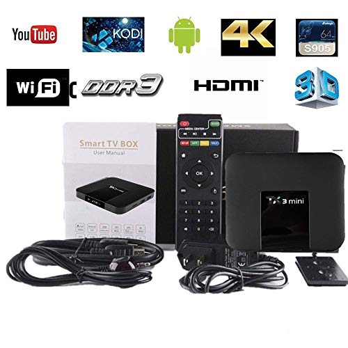 Unlocked Movies&TV Addons  Quad Core Android 7.1 UHD WiFi 4K Sold by PAYGO