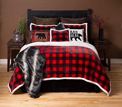 Lumberjack Red Plaid Bedding Set