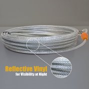 BV-Pet-Reflective-Tie-Out-Cable-for-Dog-up-to-90-Pound-25-Feet