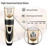 Dog-Grooming-Kit-Clippers-Low-Noise-Electric-Quiet-Rechargeable-Cordless-Pet-Hair-Thick-Coats-Clippers-Trimmers-Set-Suitable-for-Dogs-Cats-and-Other-Pets