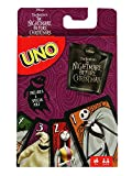 Mattel Games UNO Tin Nightmare Before Christmas Card Game