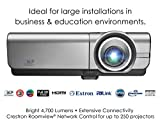 Optoma EH500 High Brightness Projector for Business with 4,700 Lumens, HDMI and Crestron RoomView for Network Control