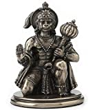 "3.25"" Hanuman Statue Hindu God of Strength Hinduism Deity Eastern Decor"