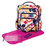Trend Lab French Bull Convertible Backpack Diaper Bag, Sus