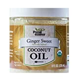 Primal Essence Organic Coconut Oil, Ginger Sweet, 8 Ounce