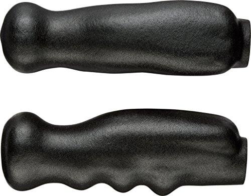 Thomas Fetterman Performance Gel Filled Crutch / Cane Hand Grips, Black, Pair