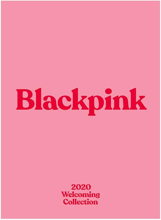 YG Entertainment Idol Goods Fan Products YG Select Blackpink'S 2020 Welcoming Collection