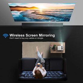 Projector-YABER-WiFi-Mini-Projector-5500-Lux-Full-HD-1080P-and-200-Supported-Portable-Wireless-Mirroring-Projector-for-iOSAndroidTV-StickPS4PC-Home-Outdoor