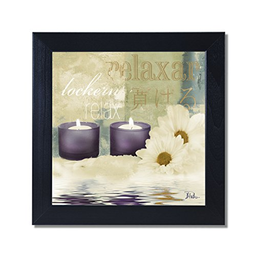 Inspiring cute and trendy purple wall art home wall art for Bathroom paintings amazon