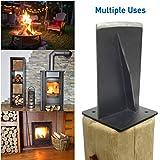 EasyGO Products EGP-WSPL-001-1 Jack Jr-The Firewood Kindling Tool - Wood Log Splitter - Bl, Jar