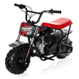 Mega Moto - Gas Mini Bike - 105CC/3.5HP with Suspension (MM-B105-RBS)(Red)