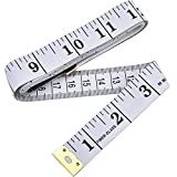 eBoot Soft Tape Measure for Sewing Tailor Cloth Ruler (White)