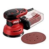 "SKIL 5"" Random Orbital Sander, Includes 3pcs Sanding Papers and Dust Box - SR211601"
