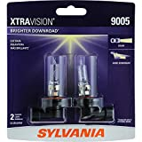 SYLVANIA - 9005 XtraVision - High Performance Halogen Headlight Bulb, High Beam, Low Beam and Fog Replacement Bulb (Contains 2 Bulbs)