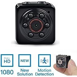 Mini Spy Hidden Camera -ENKLOV 1080P Portable Spy Video Recorder Camera with Night Vision,Motion Detection,Indoor/Outdoor Use