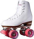 Chicago Women's Classic Roller Skates - White Rink Quad Skates - Size 9