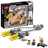LEGO Star Wars: The Phantom Menace Anakin's Podracer - 20th Anniversary Edition 75258 Building Kit, New 2019 (279 Pieces)