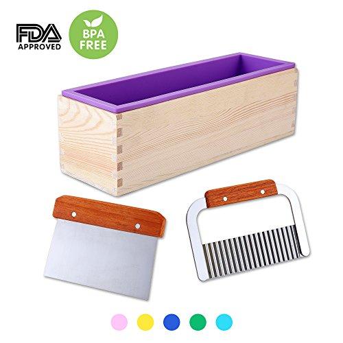 Rectangular Silicone Soap Mold