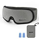 Sleep Mask 100% Blockout for A Full Night's Sleep|Eye Mask for Sleeping with Memory Foam| Sleeping Mask & Blindfold for Men Women|Works with Every Nap Position | Ultimate Sleeping Aid/Blindfold