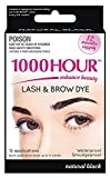 1000 Hour Eyelash & Brow Dye / Tint Kit Permanent Mascara (Black)