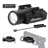 OLIGHT PL-Pro Valkyrie 1500 Lumens Cree XHP 35 HI NW Rechargeable Weapon Mount Tactical Flashlight with Magnetic Remote Pressure Switch (Black)