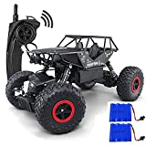 FSTgo Alloy RC Truck 4WD Remote Controll Off-Road Vehicles Radio Controlled Rock Crawler 2.4Ghz Toy Racer for Boys