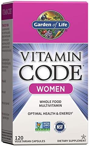 Garden of Life Multivitamin for Women, Vitamin Code Women's Multi - 120 Capsules, Whole Food Womens Multi, Vitamins, Iron, Folate not Folic Acid & Probiotics for Womens Energy, Vegetarian Supplements 1