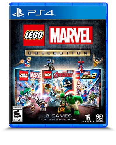 LEGO Marvel Collection PS4 Game – Includes 3 Games *BEST PRICE*