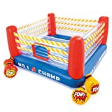 Intex Jump-O-Lene Boxing Ring Inflatable Bouncer, 89' X 89' X 43.5', for Ages 5-7