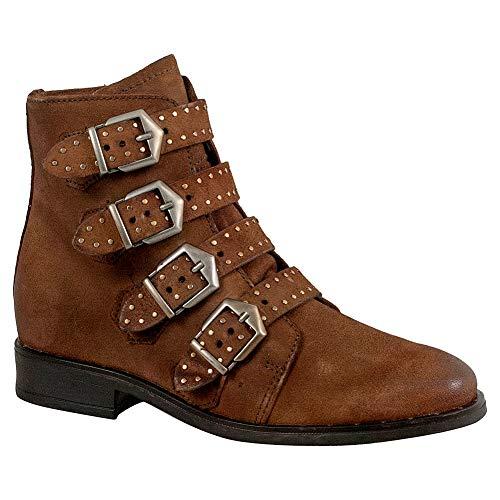Miz Mooz Edgy Women's Ankle Boot Camel
