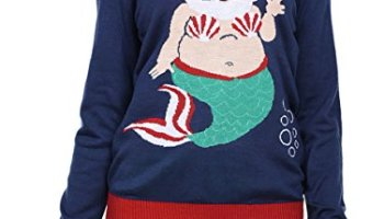 Tipsy Elves Mens Christmas Climax Sweater Funny Humping Reindeer